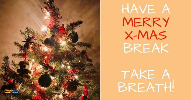 Have a merry X-mas break!